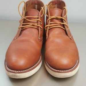 Red Wing Shoes Brown Chukka Boots
